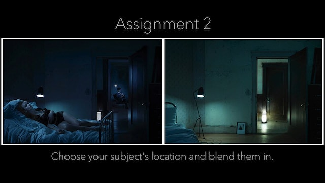 Retouching The Assignment