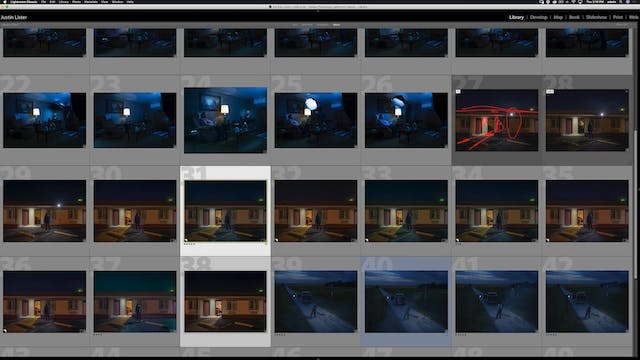 Motel - Color Grading