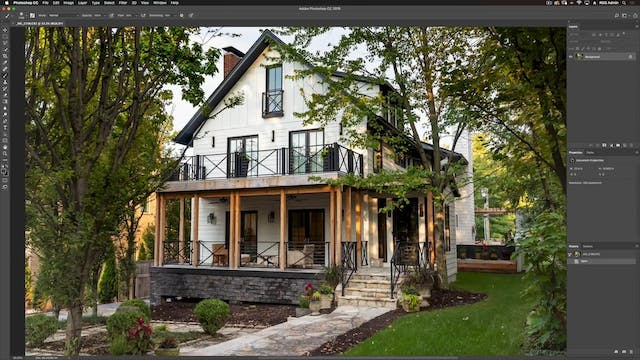 Exterior-Photoshop Retouching