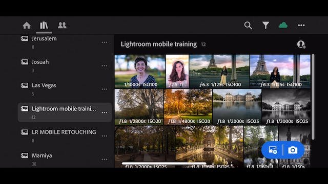 Lightroom Mobile CC  15  Viewing the ...