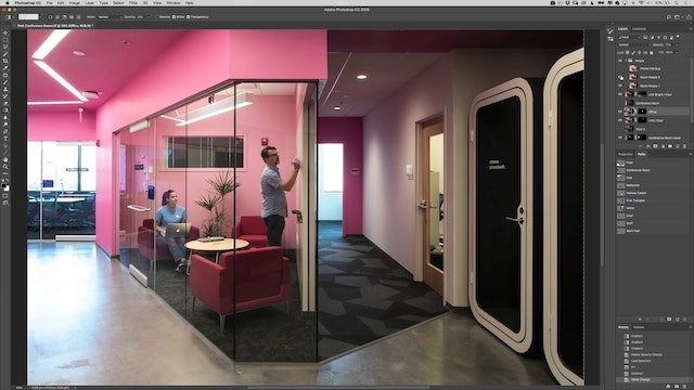Pink Room-Compositing