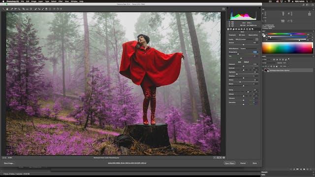 How To Use Northwest Haze In Adobe Camera RAW