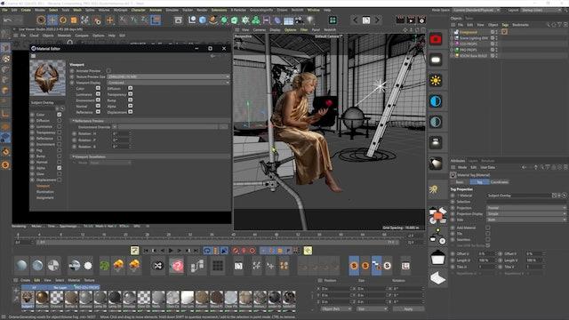 03-11 Preparing Our Scene File In Cinema 4D