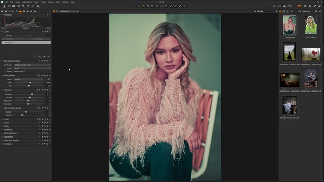 Capture One LUTs Walkthrough w Earth Oliver
