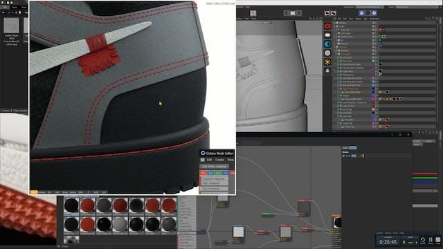 Material Creation - Back Wrap Stitchi...