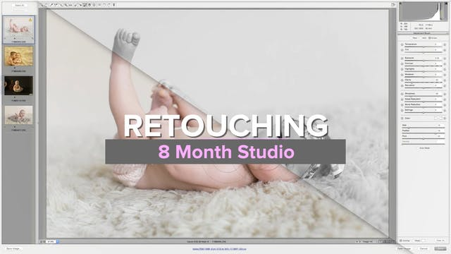 8 Month Studio Retouching
