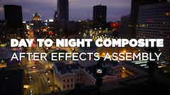 Thumbnail for Day To Night Time-Lapse / After Effects Assembly