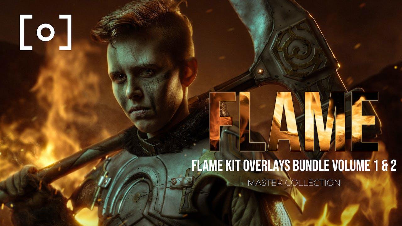 Flame Kit Overlays Bundle Volume 1 & 2