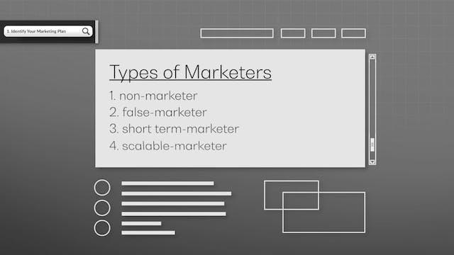 Identify Your Marketing Plan