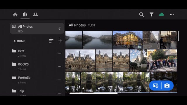 Lightroom Mobile CC  6 Pre selecting ...