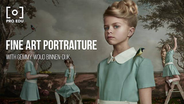 Fine Art Portraiture, Styling & Retouching