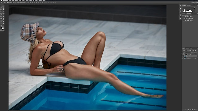 Shelby by the Pool -  Healing - Cleanup