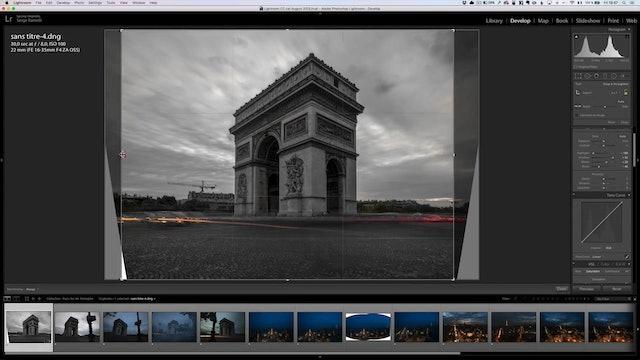 City Scapes 01 Arc Triomphe Lesson 1