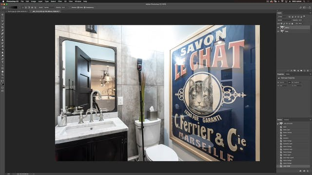 Powder Room-Photoshop Compositing