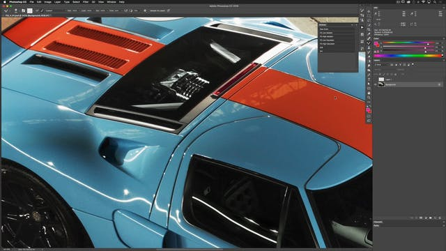 Car Retouching: High Median Workflow
