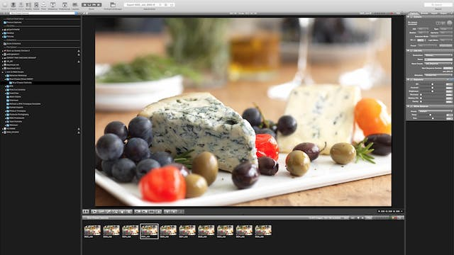 Retouching Cheese
