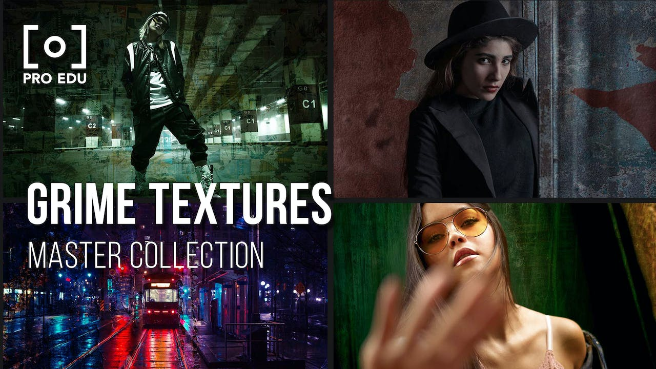 Master Collection | Grime Textures & Backdrops