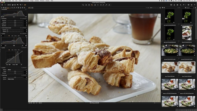 Retouching Cinnamon Twists