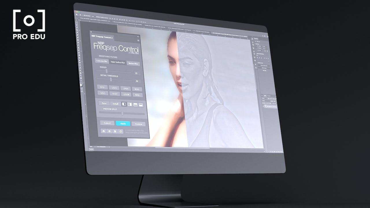 FREQ SEP CONTROL   Photoshop Plugin