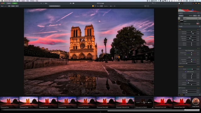 City Scapes 08 Notre Dame Lesson 4