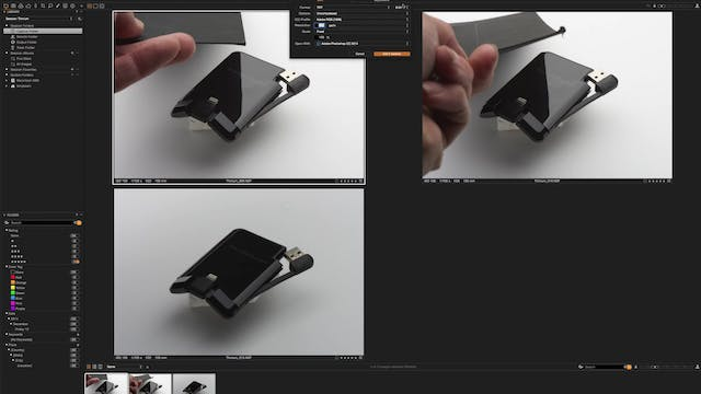 Thinium Mobile Charger Retouching