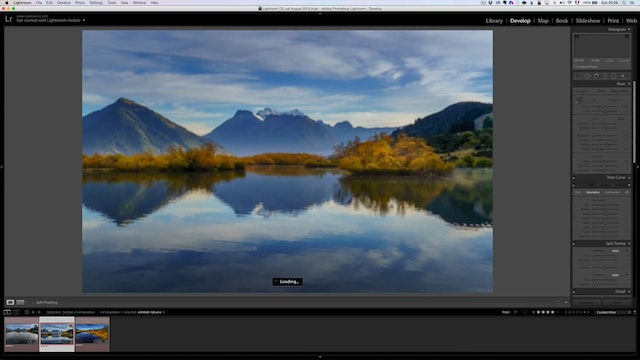 Landscape Masterclass - Retouching The Glenorchie Photos