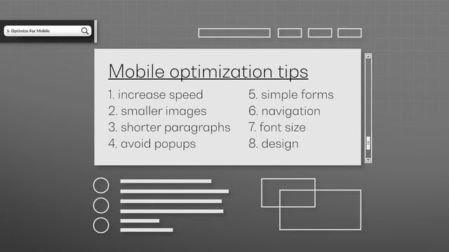 Optimize For Mobile