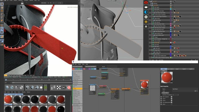 Material Creation - Plastic Tag Creation