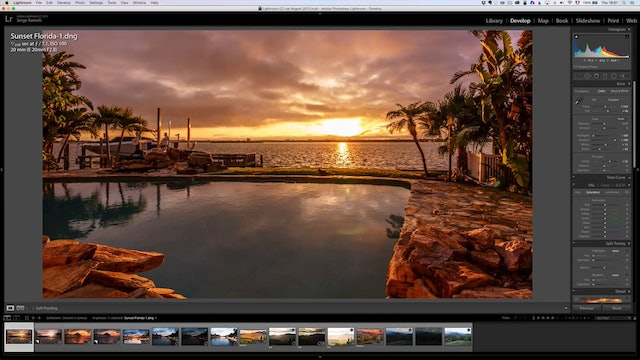 Landscape Masterclass - How to set up your camera to capture a sunset correctly