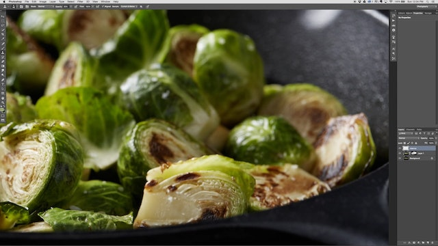 Retouching Brussels Sprouts
