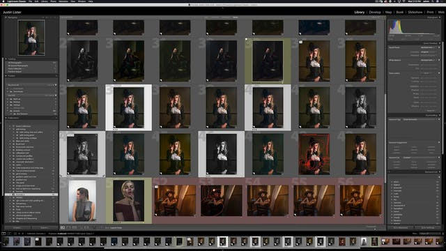 Portraiture - Goth Girl on location -...