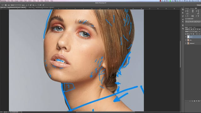Making A Retouching Plan-Beauty