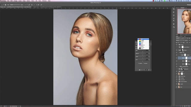 Color Grading-Beauty