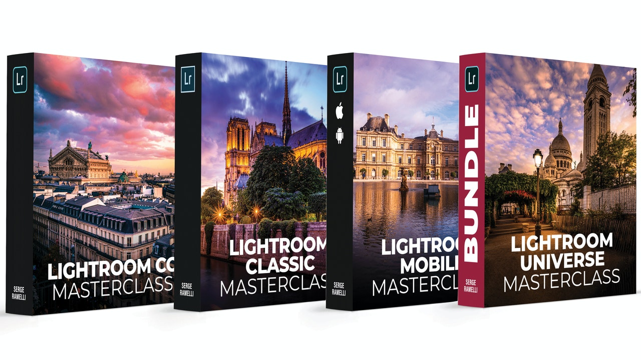 Lightroom Universe Masterclasses Bundle Classic + CC + Mobile