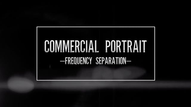 Commercial Portrait-Frequency Separation