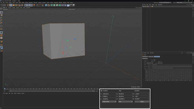Moving Objects In 3D Space