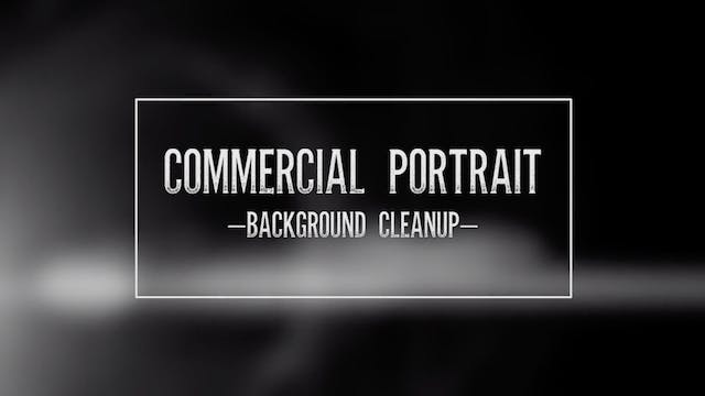 Commercial Portrait-Background Cleanup
