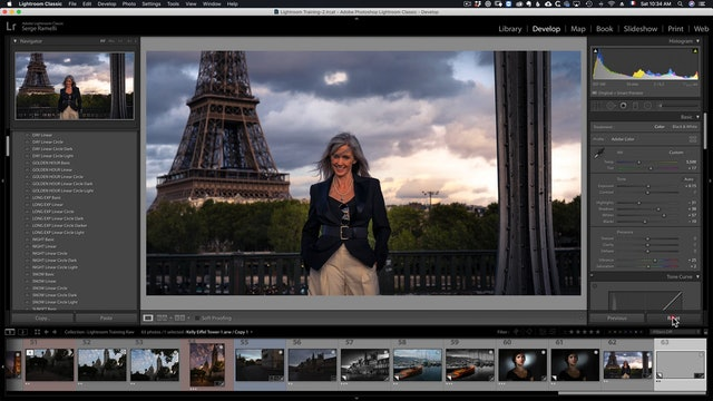 LR Classic  48 Project 18 Portrait Cityscape