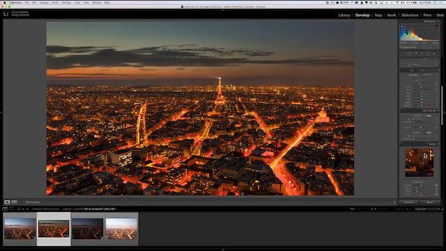City Scapes 27 Roof of Paris