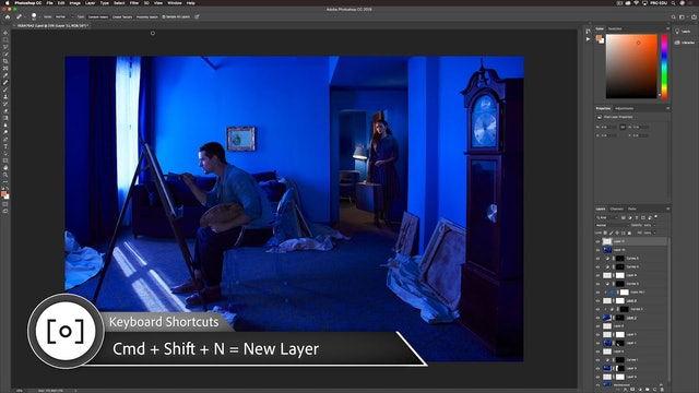 Photoshop-Dodge, Burn, & Final Adjustments