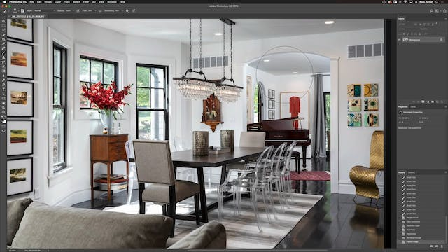 Dining Room-Photoshop Compositing