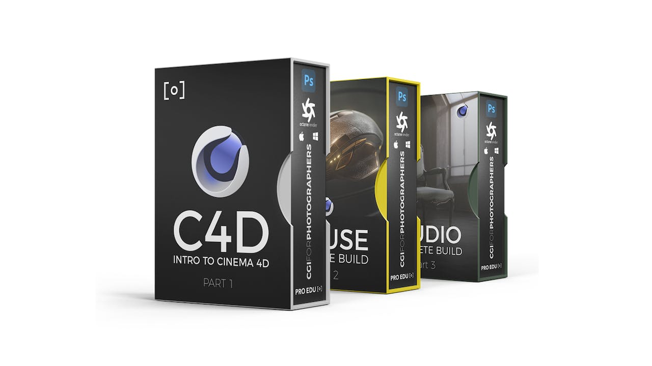 CGI For Photographers - Bundle