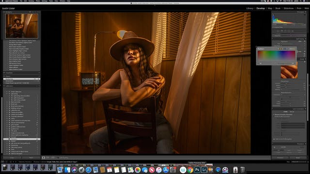 Portraiture - Cowgirl Motel in Studio...