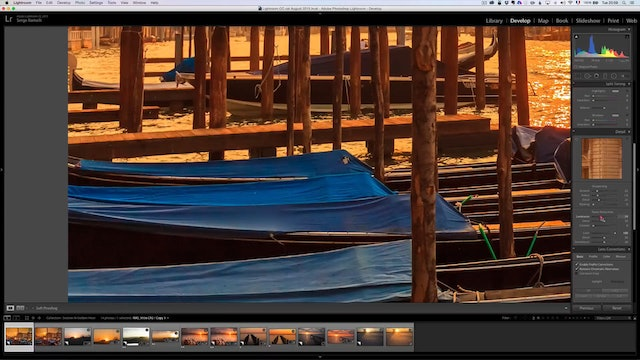 Landscape Masterclass - How to retouch golden hour photos
