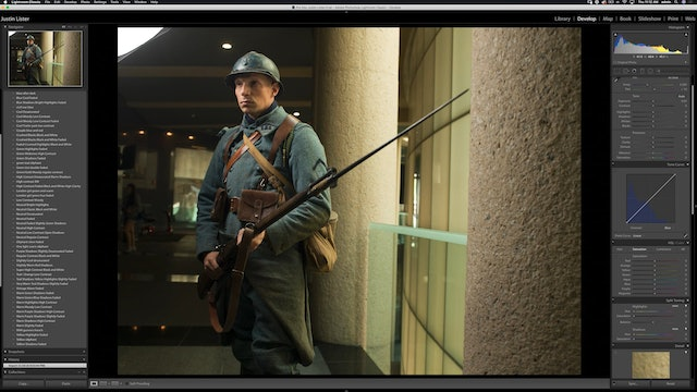 The War Series - French Soldiers - Shoot Overview & Retouching Plan