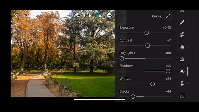Lightroom Mobile CC  11  Creating and using Presets