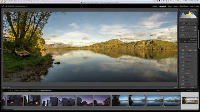 How to shoot panoramas