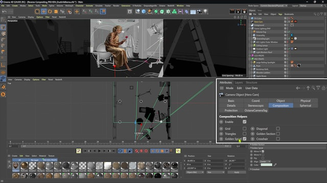 03-12 Camera Composition Tools In Cinema 4D