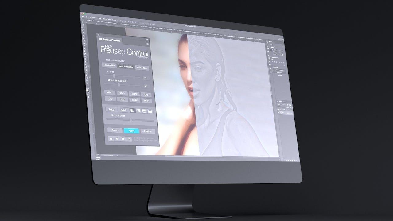 FREQ SEP CONTROL | Photoshop Plugin