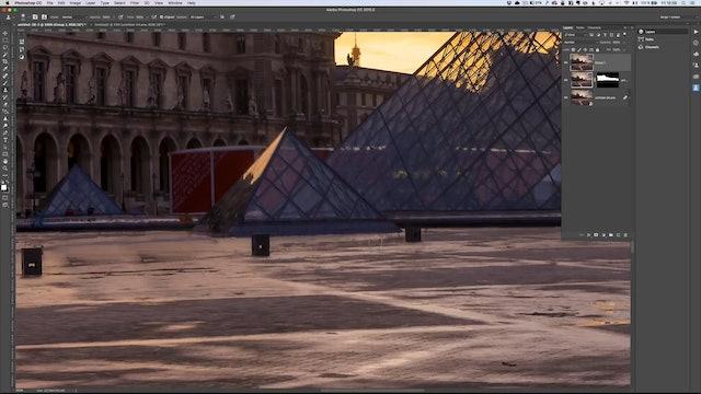 City Scapes 22 Louvre Tourist Erase Lesson 2